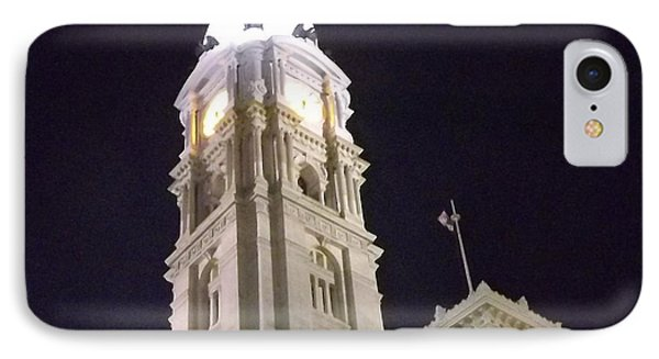 Philadelphia City Hall IPhone Case by John Wartman