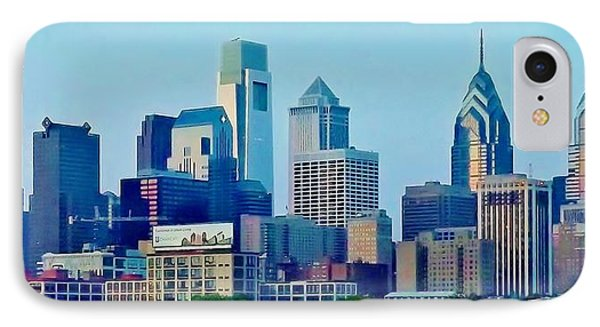 Philadelphia Color IPhone Case by John Wartman