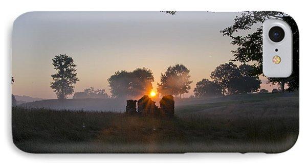 Philadelphia Cricket Club Sunrise IPhone Case by Bill Cannon