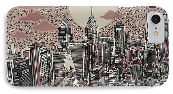 Philadelphia Dream 3 IPhone Case by Bekim Art