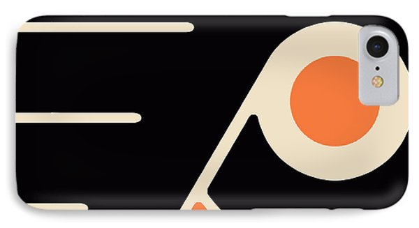 Philadelphia Flyers Size 2 IPhone Case by Tony Rubino