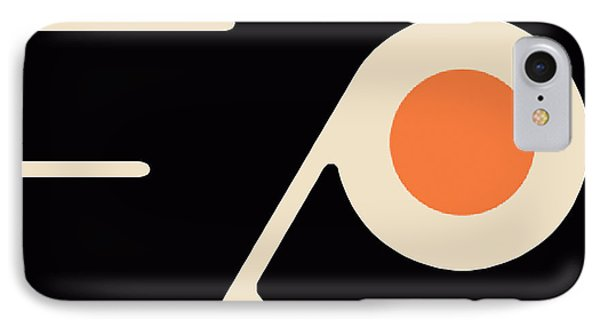 Philadelphia Flyers IPhone Case by Tony Rubino