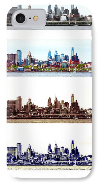 Philadelphia Four Seasons IPhone 7 Case by Olivier Le Queinec