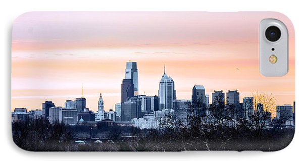 Philadelphia From Belmont Plateau Phone Case by Bill Cannon