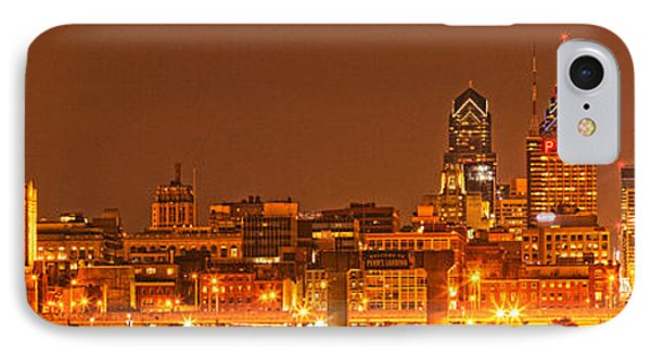 Philadelphia Lights Up The Sky IPhone Case by Adam Jewell