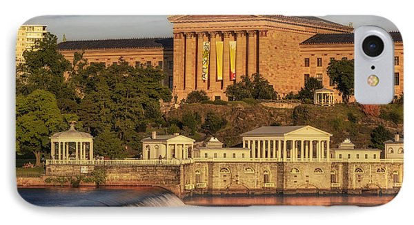 Philadelphia Museum Of Art IPhone Case by Susan Candelario