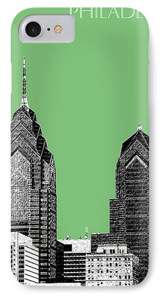 Philadelphia Skyline Liberty Place 2 - Apple IPhone Case by DB Artist