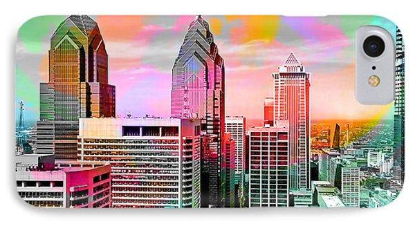 Philadelphia Skyline  IPhone Case by Marvin Blaine