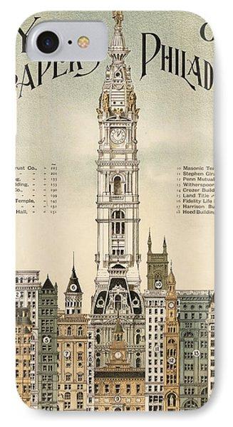 Philadelphia Skyscrapers Phone Case by Georgia Fowler
