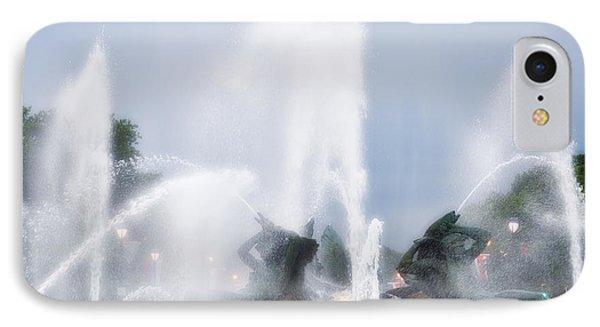 Philadelphia - Swann Memorial Fountain Phone Case by Bill Cannon