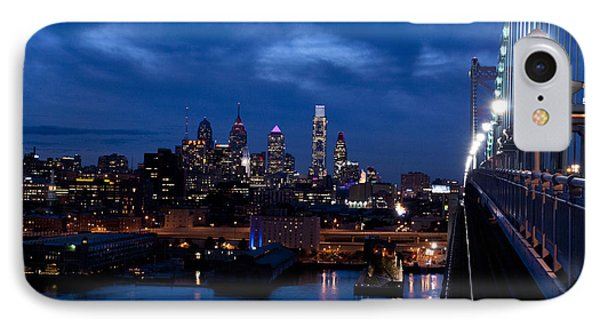 Philadelphia Twilight IPhone Case by Jennifer Ancker