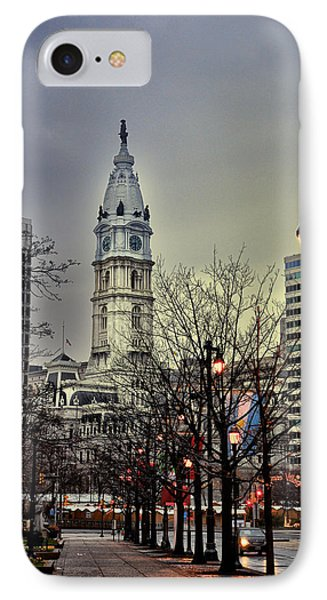 Philadelphia's Iconic City Hall Phone Case by Bill Cannon