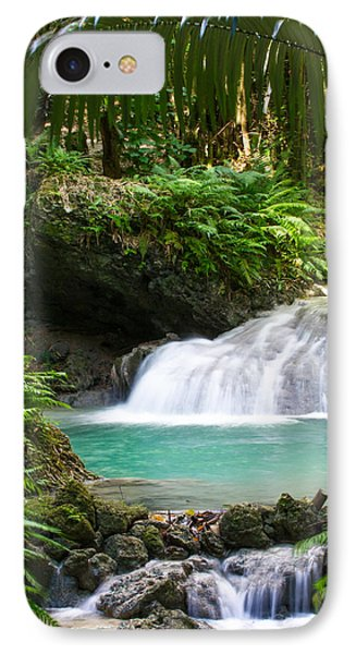 Philippine Waterfall IPhone Case by Avian Resources