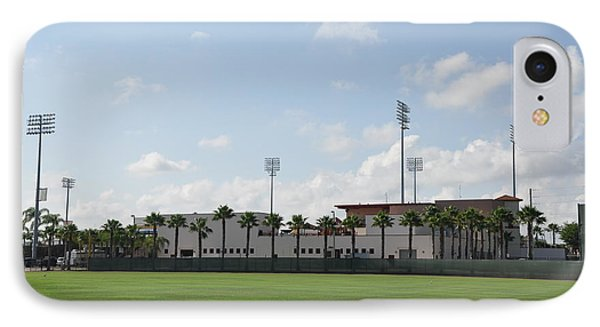 Phillies Brighthouse Stadium Clearwater Florida Phone Case by Bill Cannon