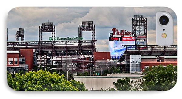 Phillies Stadium Phone Case by Stacey Granger