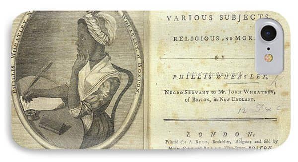Phillis Wheatley IPhone Case by British Library