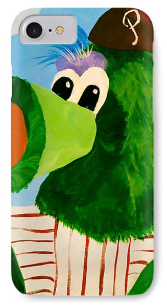 Philly Phanatic Phone Case by Trish Tritz