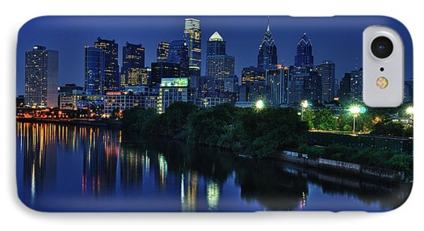 Philly Skyline IPhone Case by Mark Fuller