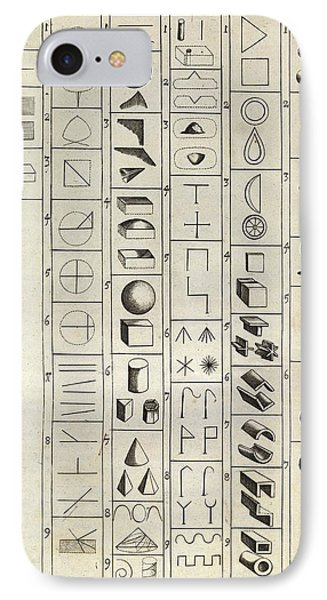 Philosophical Symbology IPhone Case by Middle Temple Library