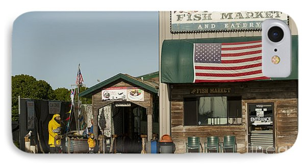 Phils Fish Market Moss Landing Phone Case by Artist and Photographer Laura Wrede