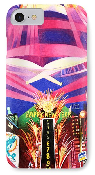 Phish New Years In New York Middle Phone Case by Joshua Morton