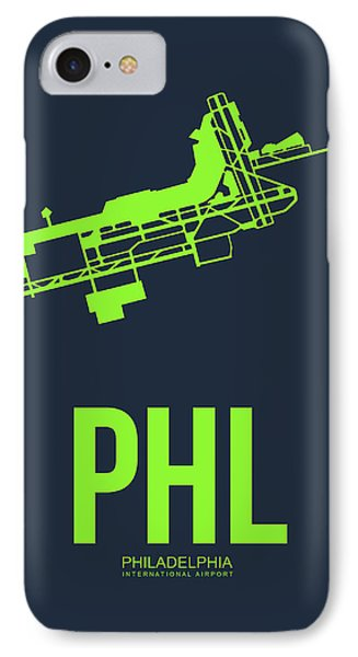 Phl Philadelphia Airport Poster 3 IPhone Case