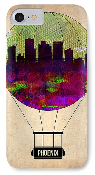 Phoenix Air Balloon  IPhone Case by Naxart Studio