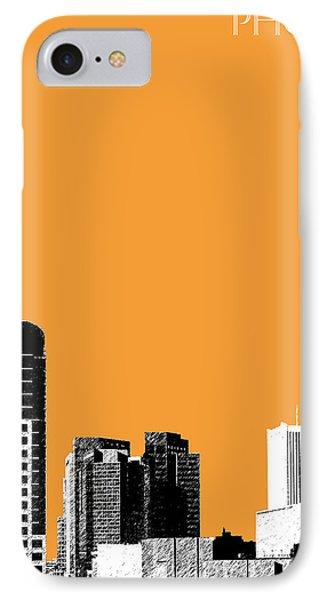 Phoenix Skyline - Orange IPhone Case