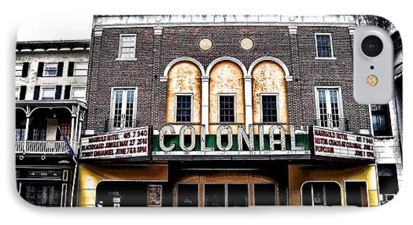 Phoenixville's Colonial Theater Phone Case by Bill Cannon