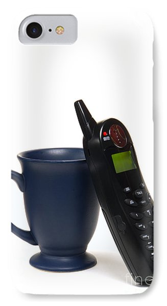 Phone Call Over Coffee IPhone Case