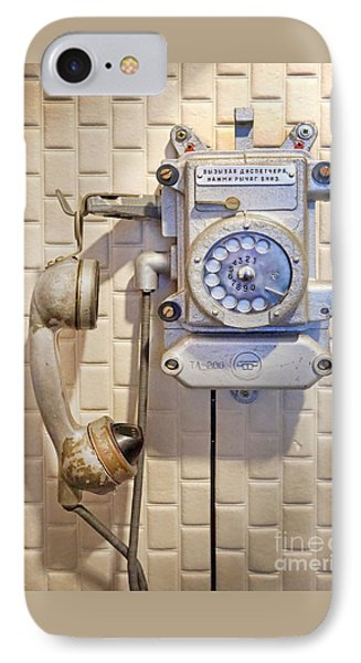 Phone Kgb Surveillance Room IPhone Case
