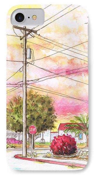 Phone Pole In Arroyo Grande - Californa IPhone Case by Carlos G Groppa