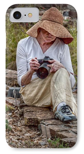 Photographer IPhone Case by Linda Unger