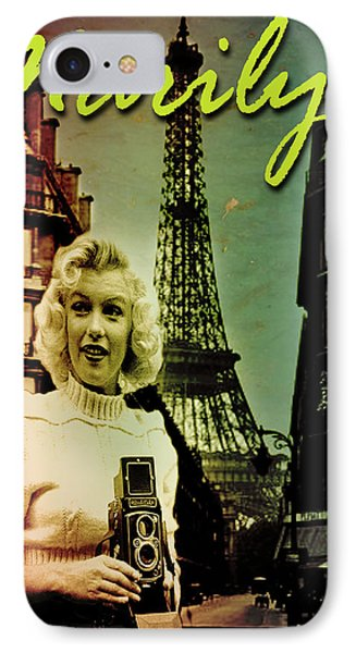 Photographer Marilyn IPhone Case by Greg Sharpe