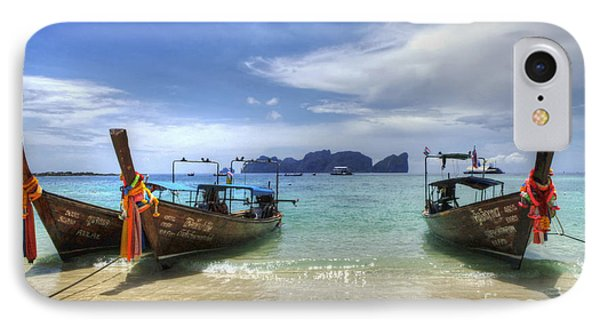 Phuket Koh Phi Phi Island Phone Case by Bob Christopher