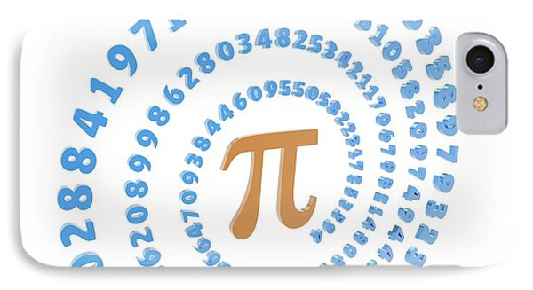 Pi Symbol And Number IPhone Case