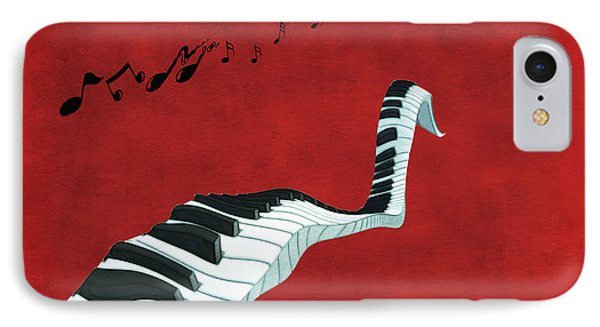 Piano Fun - S01at01 IPhone Case by Variance Collections