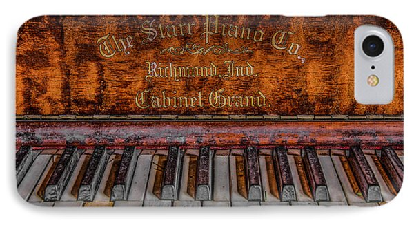 Piano Keys #1 IPhone Case by Ray Congrove