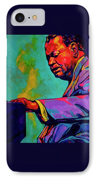 Piano Player Phone Case by Derrick Higgins