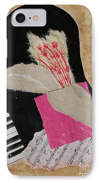 IPhone Case featuring the painting Piano Still Life by Mini Arora