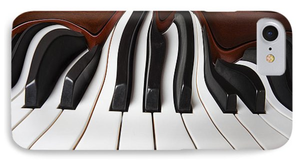 Piano Wave Phone Case by Garry Gay
