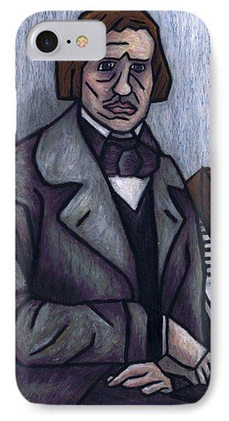 Piano's Finest Poet Fryderyk Chopin Phone Case by Kamil Swiatek