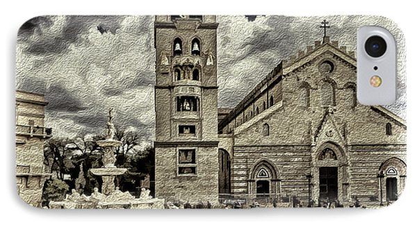 Piazza Del Duomo IPhone Case by Maria Coulson