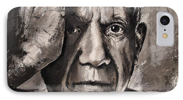 Portrait Of Pablo Picasso IPhone Case