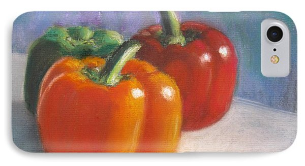 Pick A Pepper IPhone Case by Laurie Morgan