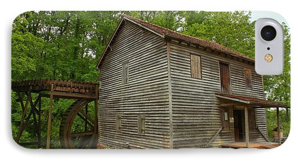 Pickens County Grist Mill IPhone Case by Adam Jewell