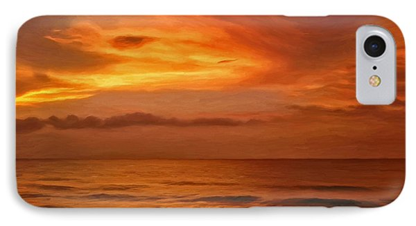 Picketts Harbor Sunset IPhone Case by Michael Pickett