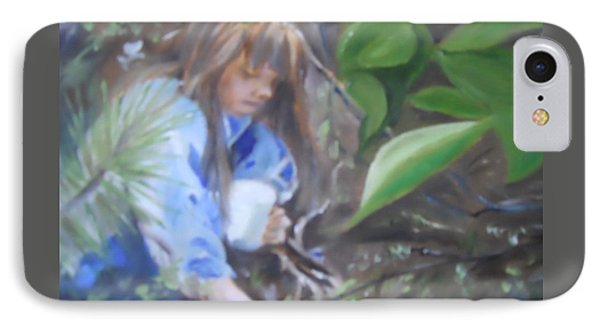 Picking Blueberries Phone Case by Joyce Reid