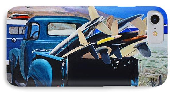 Pickup Truck Phone Case by Chikako Hashimoto Lichnowsky