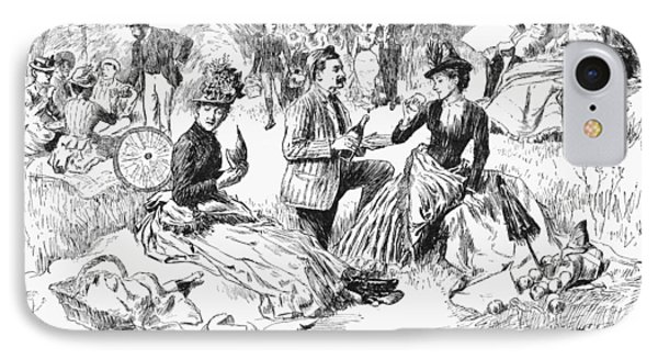 Picnic, 1886 IPhone Case by Granger